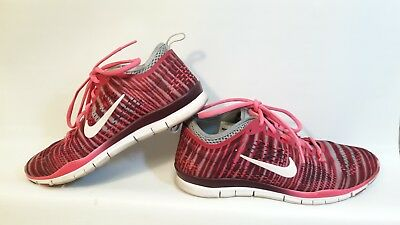 new product 1747f dc548 WOMEN'S NIKE FREE 5.0 TR Fit 4 Red gray Running Shoes.. Size 8