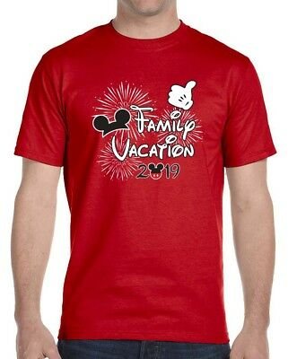 2019 Disney Themed Family Vacation T-Shirts