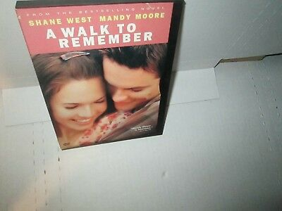 A WALK TO REMEMBER 2002 Romance dvd MANDY MOORE Shane West