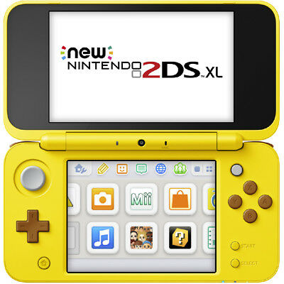 Nintendo New 2DS XL Pikachu Edition (Premium Refurbished by EB Games) preowned -