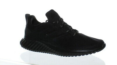 ea70e8adf ADIDAS WOMENS ALPHABOUNCE Cr Black Running Shoes Size 10.5 (163590 ...