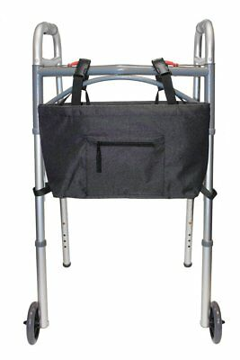 RMS Water Resistant Tote Bag for Walker Rollator or Scooter Black