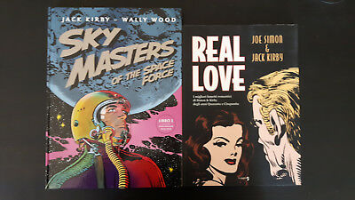 Sky Masters vol.1 & Real Love di Jack kirby - Renoir e Comma22