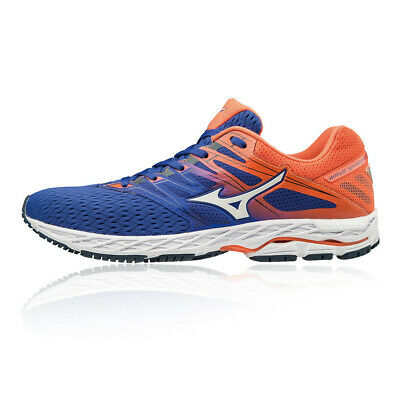 new styles 2c8f4 d8ad4 MIZUNO MENS WAVE Shadow 2 Running Shoes Trainers Sneakers Blue Orange Sports