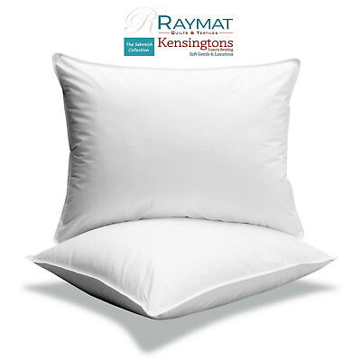 """Luxury Fine Microfibre Square Bounce Back Pillows Cushion Insert 2 in1 32""""x32"""""""