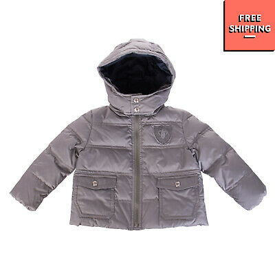 I PINCO PALLINO Down Quilted Jacket Size 12M Detachable Hood Made in Italy