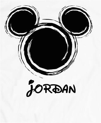 DISNEY MICKEY MOUSE ::::::::::::::::Personalized Fabric/T