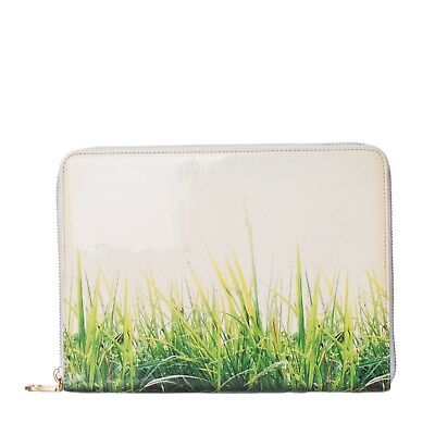 MARC BY MARC JACOBS Clutch Bag iPad Case Patent PU Leather Grass Print  Zipped - EUR 10,13   PicClick FR 36ccedc85343