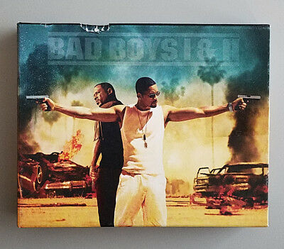 Bad Boys / Bad Boys II (Blu-ray Disc, 2015, 2-Disc Set, Blu-ray, 4K Ultra HD)