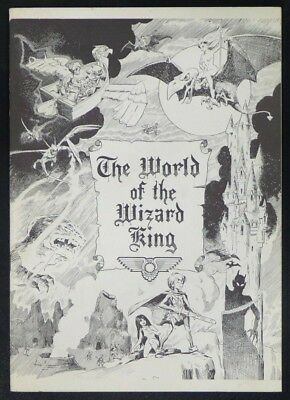 THE WORLD OF THE WIZARD KING, Wally Wood ( Real Free Press 1974 ) w/ Dragonella