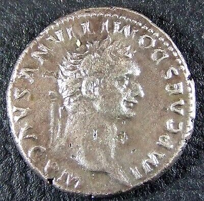 Domitian, Ar Denarius, Rome 81 Ad. Ruthless Autocratic Tyrant, Died By Murder