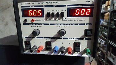 Farnell Tops 3D Triple Output Power Supply (Trolleyj.3)