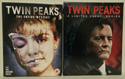 Twin Peaks The Entire Mystery + The Return A Limited Event Series  (Blu-ray)
