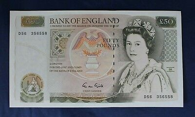 Gill £50 Note Number  D56 356558  EF   (AB8/8)