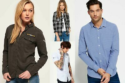 New Superdry Shirts Selection for Men and Women - Various Styles & Colours 06021