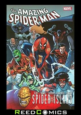 SPIDER-MAN SPIDER-ISLAND GRAPHIC NOVEL (376 Pages) New Paperback
