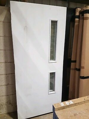 1hr Painted Fire Door With Vision Panels