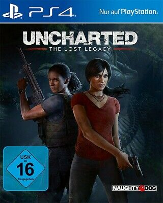 PS4 / Sony Playstation 4 Spiel - Uncharted: The Lost Legacy DE NEU & OVP