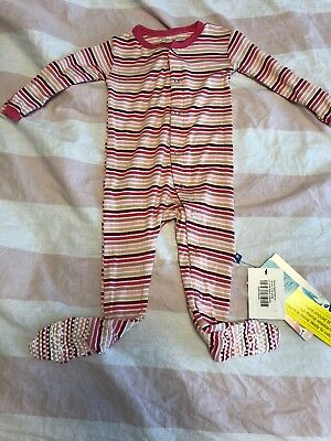 e2724413901a KICKEE PANTS LOTUS Elephant Toddler Girl Ruffle Coverall 12-18 ...