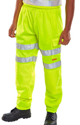 Hi Viz Jogging Bottoms Saturn Yellow