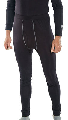 Base Layer Long John Black