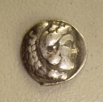 336-323 BC Alexander III, the Great Ancient Greek Silver Tetradrachm F
