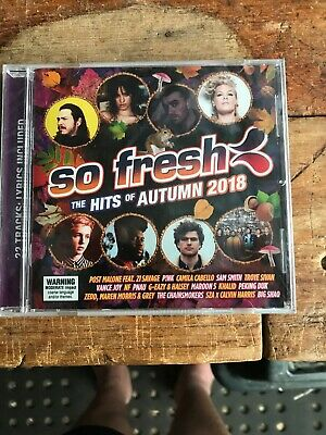 So Fresh The Hits Of Autumn 2018 Cd New Sealed