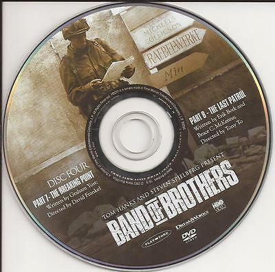 Band of Brothers HBO (DVD) Replacement Disc!  Disc 4, Disc Only!  U.S. Issue!