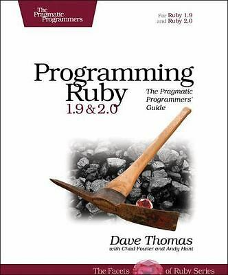 Programming Ruby 1.9 & 2.0: The Pragmatic Programmers' Guide (The Facets of Rub