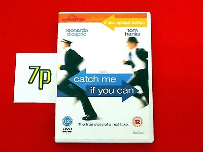 Catch Me If You Can (2 DISC DVD SET) Tom Hanks ✔️ Special Edition ✔️ VGC