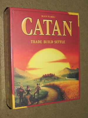 NEW Klaus Teuber's Catan board game - Trade Build Settle - 5th Edition