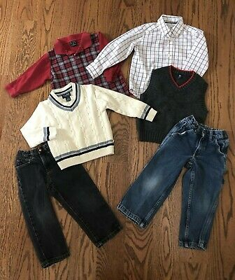 299841902 LOT OF 6 Pieces of Boys Clothes Size 4 E-Land, GAP,Greendog,Child ...