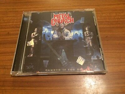 METAL CHURCH Damned If You Do CD 2018 NEW Sealed Mike Howe
