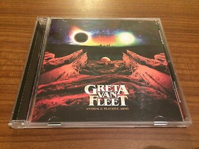 GRETA VAN FLEET Anthem Of The Peaceful Army CD 2018 NEW Sealed