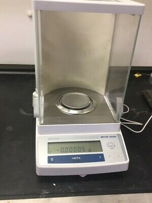 Mettler Toledo AB265-S/FACT Analytical Balance 61/320g x 0.01/0.1mg glass shield