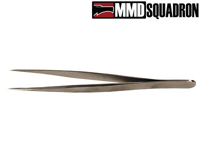"MMD Squadron - Fine Point Micro Tweezers 4 1/2"" Small Parts Model Making Crafts"