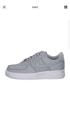 buy popular 8c8f7 18eb6 New Women Nike Air Force 1 Lo Wolf Grey Size 5Uk