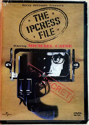 The Ipcress File (DVD, 1999) FACTORY SEALED / R1 / NTSC