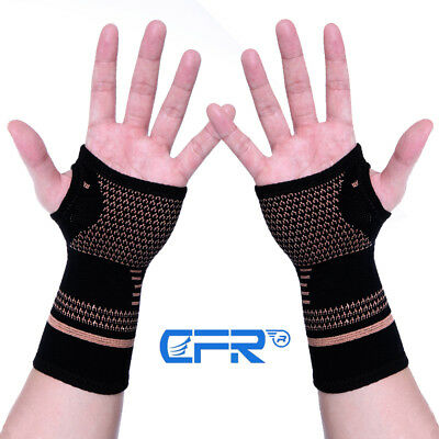CFR Arthritis Wrist Gloves Compression Support Brace Gym Hand  Carpal Tunnel RSI