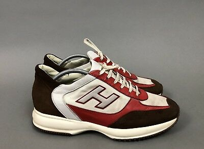 27e508a88260 GUCCI SNEAKERS TENNIS shoes white leather red bottom sole men s size ...