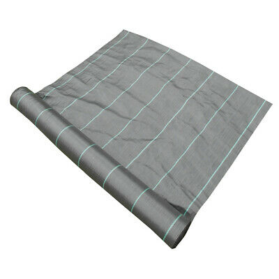 1.5m x 15m 100g Weed Control Ground Cover Membrane Landscape Fabric Heavy Duty