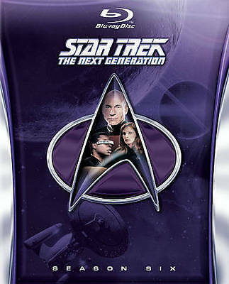 BRAND NEW Star Trek: The Next Generation Season 6 Blu-ray Disc, 2014, 6-Disc Set