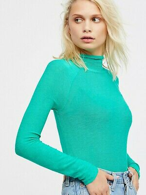 0ffc516c07da NWT FREE PEOPLE Weekends Snuggle Turtleneck Retail  40 size Small ...
