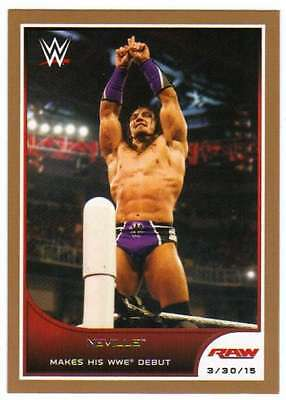 2016 Topps WWE Road to Wrestlemania Bronze Parallel #17 Neville