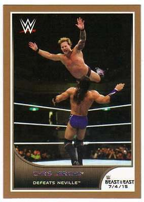 2016 Topps WWE Road to Wrestlemania Bronze Parallel #52 Chris Jericho