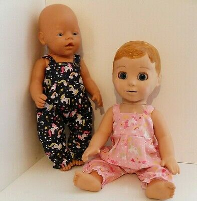 """17"""" Handmade  Dolls Clothes  Fit Baby Born, Luvabella ,Luvabeau, Annabell 43Cm"""
