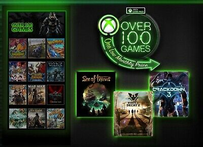 xbox game pass ONLY £1 (2 weeeks long)