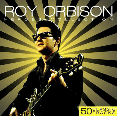 ROY ORBISON ~ Heroes Collection NEW SEALED 2CD EARLY GREATEST HITS / BEST OF