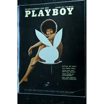 Playboy Us 1971 10 October Interview Charles Evers Marisa Berenson Claire Rambea