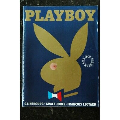 Playboy 001 Numero 1 Septembre 1985 Gainsbourg Grace Jones Madonna Integral Nude